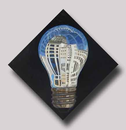 Jan Denneman Philips bulbs Klokgebouw philipsbulbs